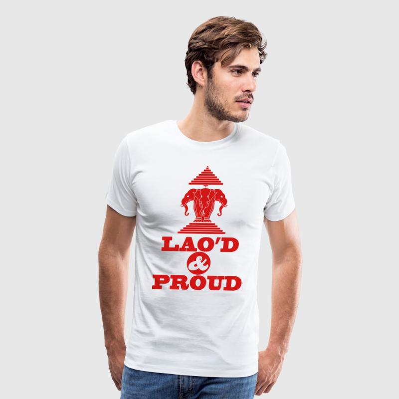 LAO'D & PROUD - Men's Premium T-Shirt