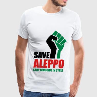 SAVE ALEPPO - Men's Premium T-Shirt
