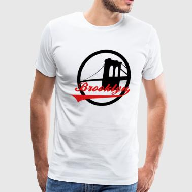 Brooklyn Bridge - Men's Premium T-Shirt