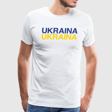 UKRAINA - Men's Premium T-Shirt