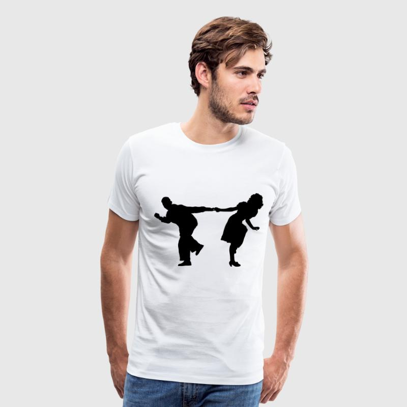 dancers 2 - Men's Premium T-Shirt