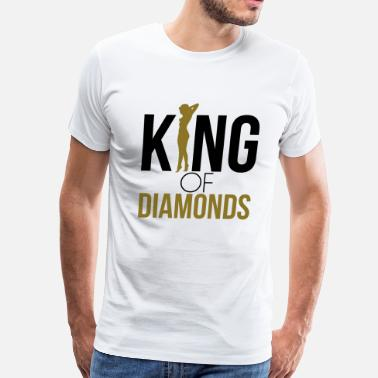 King Of The Streets KING OF DIAMONDS - Men's Premium T-Shirt
