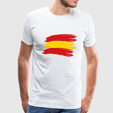 Flag Spain Vector - Men's Premium T-Shirt