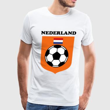 Netherlands Flag - Men's Premium T-Shirt