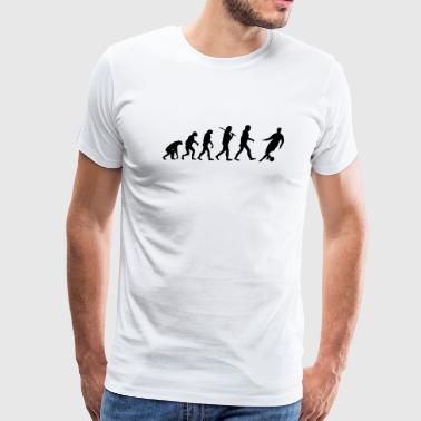 Evolution of Soccer - Men's Premium T-Shirt