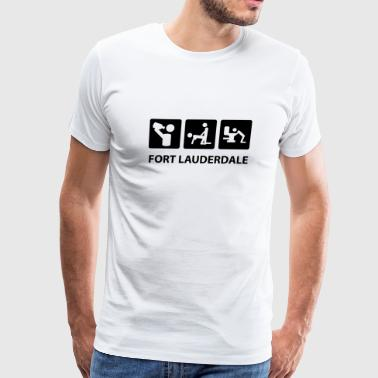 fort lauderdale - Men's Premium T-Shirt