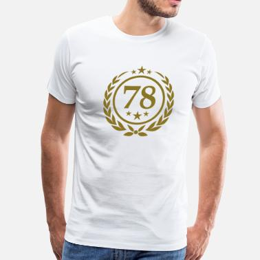 78 Birthday Birthday 78 - Men's Premium T-Shirt