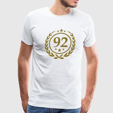 Birthday 92 - Men's Premium T-Shirt