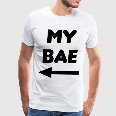 My Bae Matching Couples - Men's Premium T-Shirt