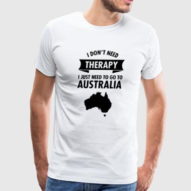 Therapy - Australia - Men's Premium T-Shirt