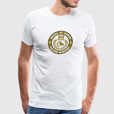 MEDAL OF HONOR 50th GOLDEN WEDDING 3C - Men's Premium T-Shirt