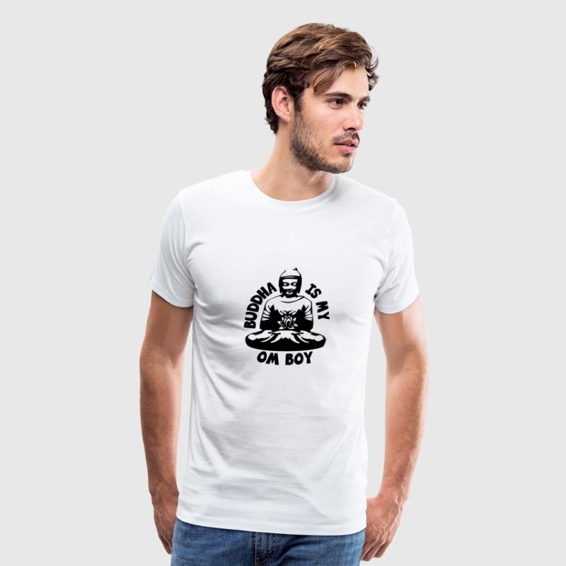 Buddha is my Om Boy - Men's Premium T-Shirt