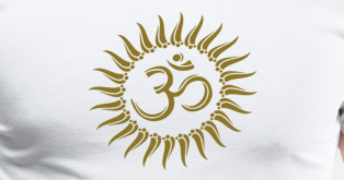 d8809fa660b Om sun buddhism, yoga, spiritual, meditation, goa Men's Premium T-Shirt |  Spreadshirt
