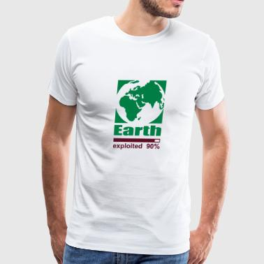 Earth exploited - Men's Premium T-Shirt