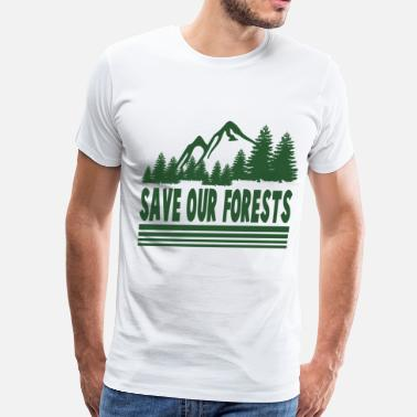 Forest safe232323.png - Men's Premium T-Shirt