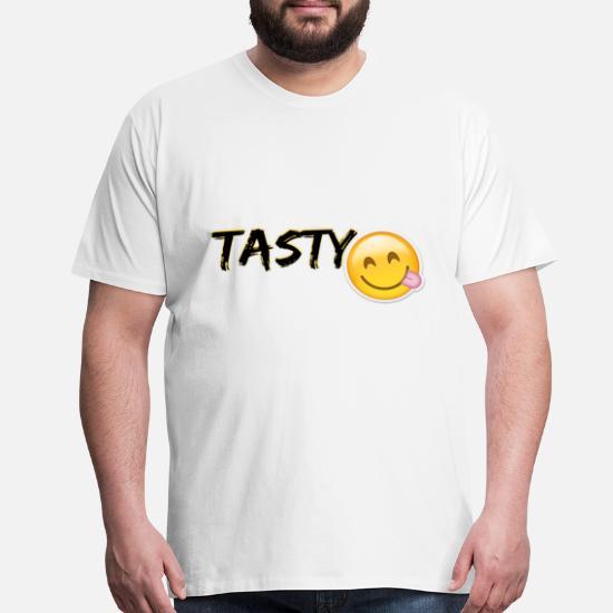 Tasty Emoji Mens Premium T Shirt Spreadshirt