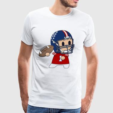 Quarterback - Men's Premium T-Shirt