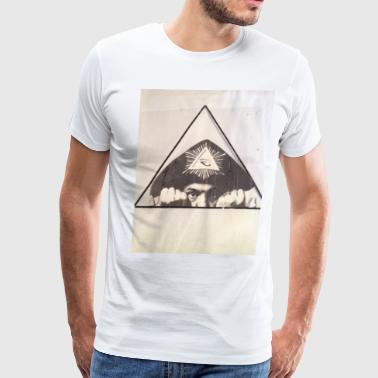 Aleister Crowley Crowley design by Little Jack - Men's Premium T-Shirt