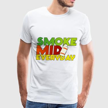 Smoke Mid Everyday Colored - Men's Premium T-Shirt