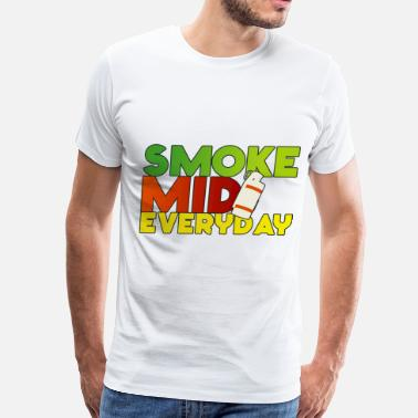 Color Smoke Smoke Mid Everyday Colored - Men's Premium T-Shirt