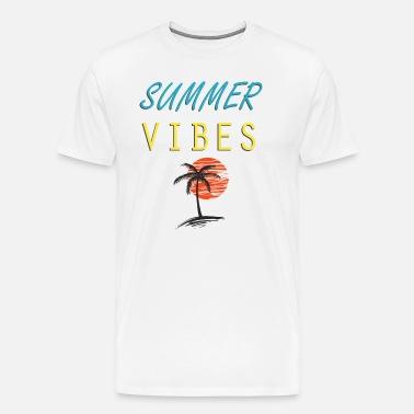 10636852513 Summer Vibes Men s Premium T-Shirt