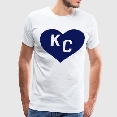 Paul Rudd Heart KC Kansas - Men's Premium T-Shirt