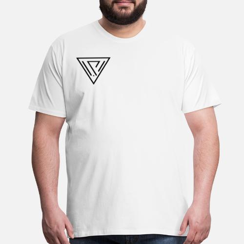 30e0833281c94 cropped VIVID VENUS graphic design logo minimalist Men s Premium T ...