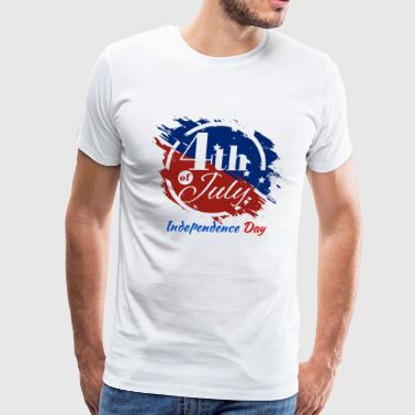 Happy independence day T-Shirt 4th July - Men's Premium T-Shirt