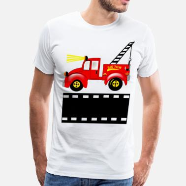 Tow Trucks Tow Truck - Men's Premium T-Shirt