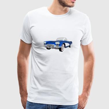 1961 Chevrolet Corvette 1961 Corvette C1 - Men's Premium T-Shirt