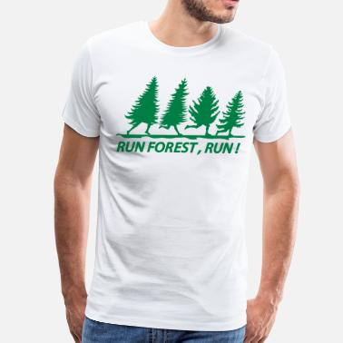 Forrest Gump Running run forest - Men's Premium T-Shirt