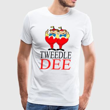 tweedle dee - Men's Premium T-Shirt