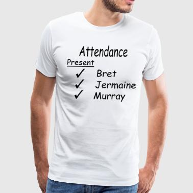 Flight Of The Conchords - Attendance  - Men's Premium T-Shirt