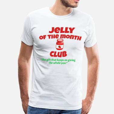 National Lampoon Jelly Of The Month Club - Christmas Vacation - Men's Premium T-Shirt