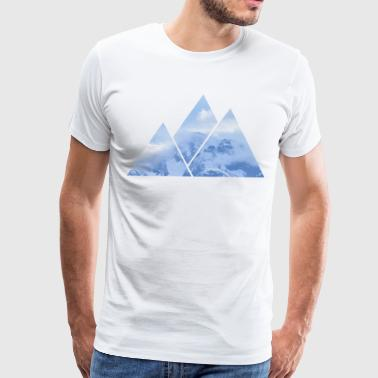 Mountains in Mountains - Men's Premium T-Shirt