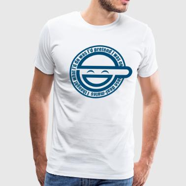 Laughing Man - Men's Premium T-Shirt