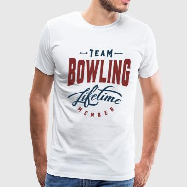 Team Bowling - Men's Premium T-Shirt