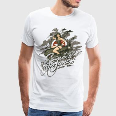 Bombshell Jane - Men's Premium T-Shirt