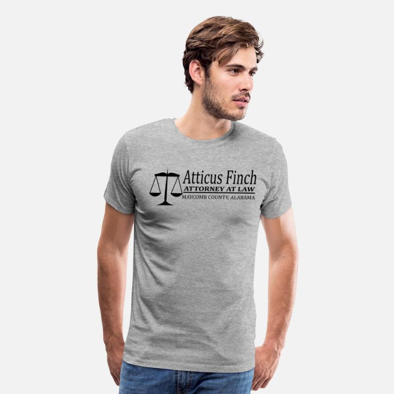 e735fdca To Kill A Mockingbird - Atticus Finch Men's Premium T-Shirt | Spreadshirt