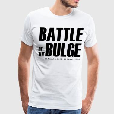 Battle of the Bulge (Black) - Men's Premium T-Shirt