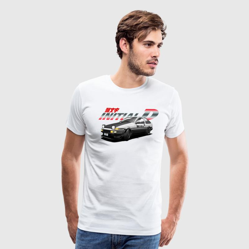 drift car - Men's Premium T-Shirt