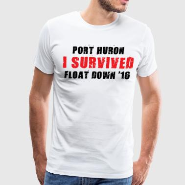 Port Huron Float Down Mug - Men's Premium T-Shirt