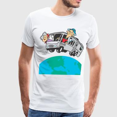 Breast Motorhome RV - Men's Premium T-Shirt