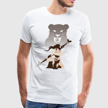 Nidalee, Bestial Huntress - Men's Premium T-Shirt