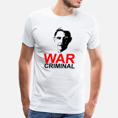 Obama War Criminal - Men's Premium T-Shirt