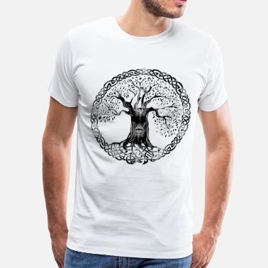 Celtic Knot TREEOFLIFE evileye - Men's Premium T-Shirt