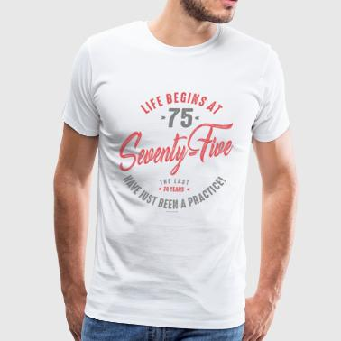 75th Birthday - Men's Premium T-Shirt