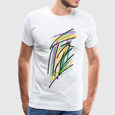 Abstract Courthouse - Men's Premium T-Shirt