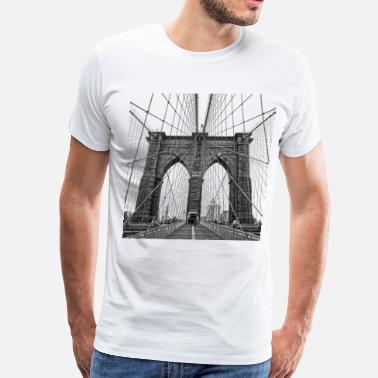 Bridge Brooklyn Bridge - Men's Premium T-Shirt