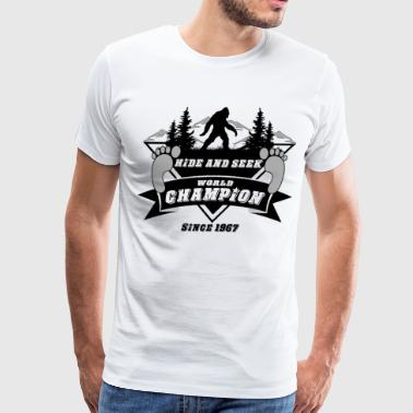 Bigfoot Hide & Seek World Champ - Men's Premium T-Shirt